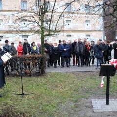 Odsłonięcie tablicy upamiętniającej prof. Leszka Kuberskiego (19.12.2016)_1