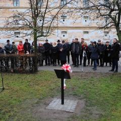 Odsłonięcie tablicy upamiętniającej prof. Leszka Kuberskiego (19.12.2016)_3